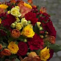 Bouquet de deuil chatoyant